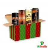 Canasta de chocolates con licor Baileys tequila 1800 jose cuervo y Johnnie walker - mi tiendita mexico mx
